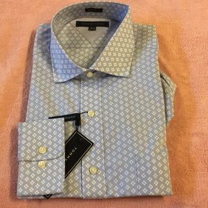 Tommy Hilfiger Long Sleeve Dress Shirt 16.5/34-35